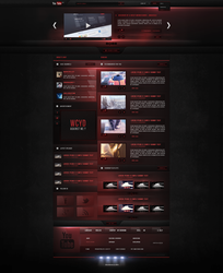 Youtube|Redesign - Fun project. by Crelcreation