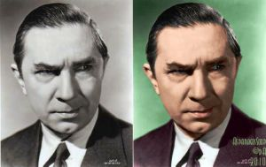 Lugosi colorization - 'Glare' by AsparagusSoup