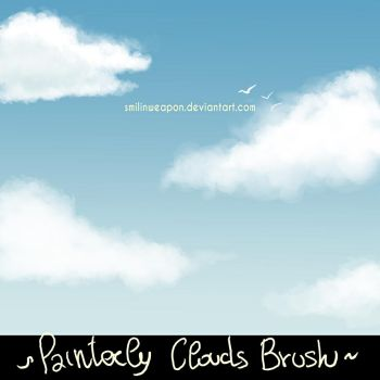Painterly Background brush (Clouds) by smilinweapon