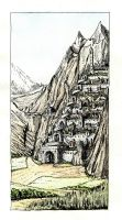 Minas-Tirith by erzsebet-beast