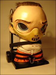 Hannibal Lecter - Munny by Flame-Ivy