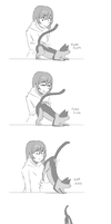 Pet the kitty by MLeth