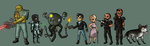 Fallout 3 Followers by Doomed-Dreamer