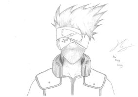 Kakashi Hatake by harrylee2303