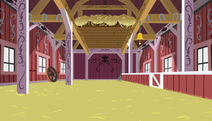 Apple Family Barn Interior (Full Version) by BobtheLurker