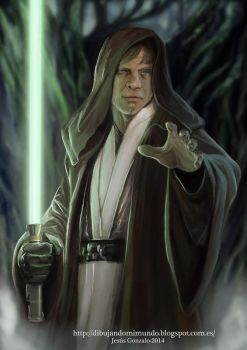 Luke Skywalker episode VII by padraven