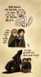 You and your big mouth Samwise Gamgee by Kallica