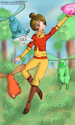Lok - Jinora and the spirits by Princess-CoCo-154