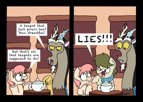 The Truth About Teapots by bobthedalek