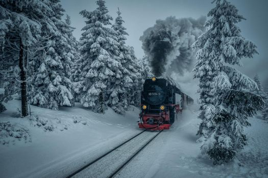 Harz Mountains in Winter Mood by hessbeck-fotografix