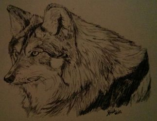 Loup by LoiseFenollCreation
