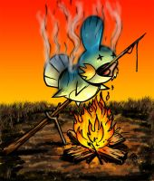 Mudkip Roasting.... by Snigom