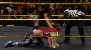 Liv Morgan wedgie by EmmaRoused