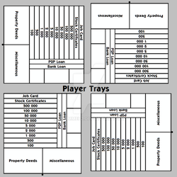 Player trays by Emmmmerz