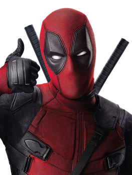 Deadpool EW cover no text PNG by MessyPandas