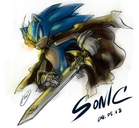 Sonic by LeonS-7