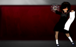 Urabe - Spin - Fancy - Silver and Red by daul