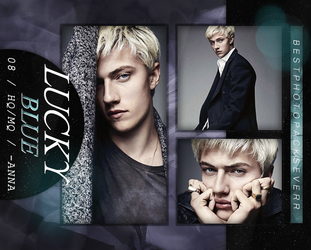 Photopack 8922- Lucky Blue by southsidepngs