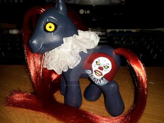 My Little Pony G3 Pennywise the Clown IT Custom by MikeysGrrrl