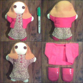 Amy Pond - Wee Amelia Pond - Finished by PlushieOnTheSun