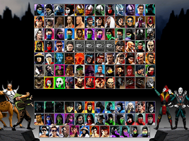 Mortal Kombat Trinity by blacksaibot