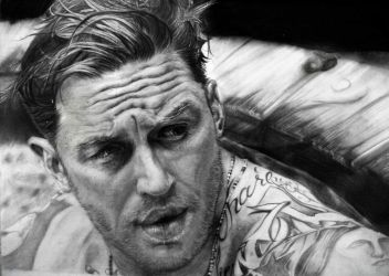 Tom Hardy by Sasoriakasuna1