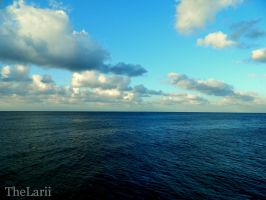 The sea by TheLarii