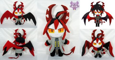 Ivlis from The Gray Garden by TrashKitten-Plushies