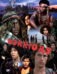 Warriors movie poster tribute #1 by joelosito