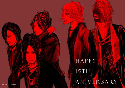 The Gazette 15th Anniversary by RyuzatoMayakashi