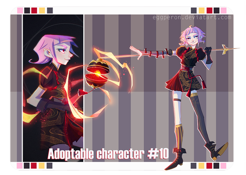 (AUCTION CLOSED) Adoptable character #10 by Eggperon