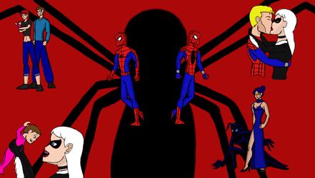 Spider-man Family season 2 survival of the fittest by stelly777