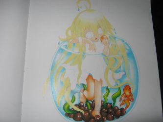 Girl in Fish Bowl by VeriaLamour