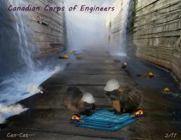 The Canadian Corps of Engineers by Can-Cat