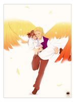 Wings of a Hero by MarshmellowHeaven