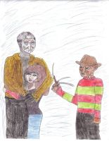 Freddy...jealous? by MrsFreddyKrueger