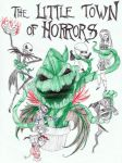 The Little Town of Horrors by Nandah
