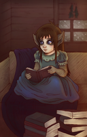 Revelation of Ula'ran: The Bibliophile by Kiotoko-Solo