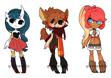 {giveaway adopts - CLOSED, WINNERS ANNOUCED} by peachshark