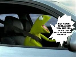 Kermit Loses His Cool Again by Lepfan101