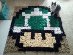 mario blanket by Lulzologist