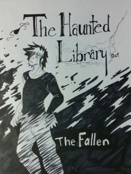 The Haunted Library Audition CoverPage by Project-mafia