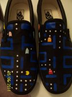 Pacman Shoes by gigarit