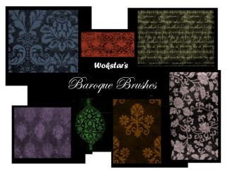Baroque Brush Set 1 by wokstar