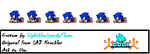 Sonic Push-up Sprites [Custom] by FrostBurned-Soul