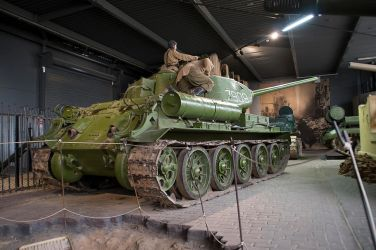 T-34/85 by Small-Brown-Dog