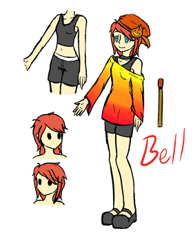Gloomverse OC - Bell by VeoGirl