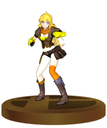 [MMD] Yang Xiao Long SSB Trophy by ToaJahli