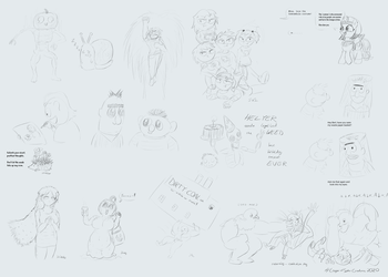 Art Stream 7 Sketch Collection by baratus93