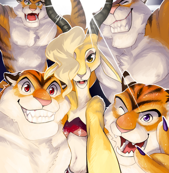 After show selfie by chirenbo